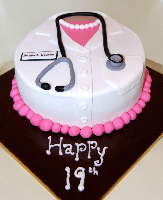Birthday Cake Design For Doctor : Pin by Emma Alvarado on Cakes Pinterest