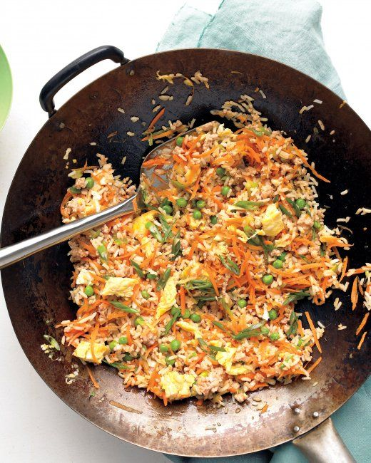 Pork Fried Rice Keep leftover rice on hand to whip up this one-pot ...