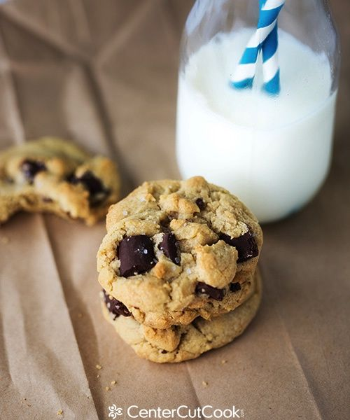 Salted Brown Butter Chocolate Chunk Cookies | Recipe