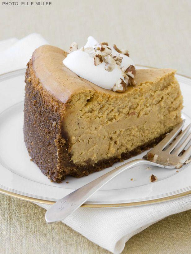 Ultimate Pumpkin Cheesecake #FNMag #ThanksgivingFeast