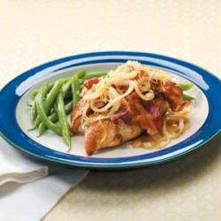 Smothered Chicken Breasts - I exchanged lemon pepper with a ...