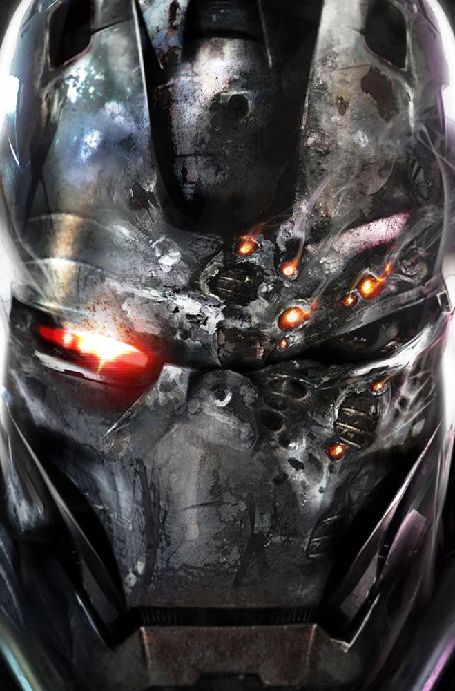 War Machine #6 by Francesco Mattina