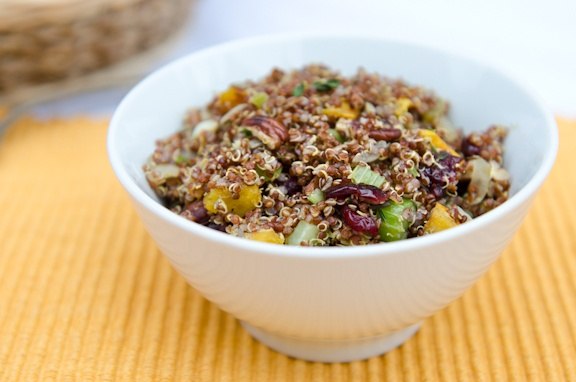 Quinoa Stuffing With Butternut Squash and Pecans - best one. Sub sweet ...