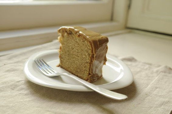 caramel spice cake