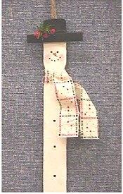 Tongue depressor Snowman ...
