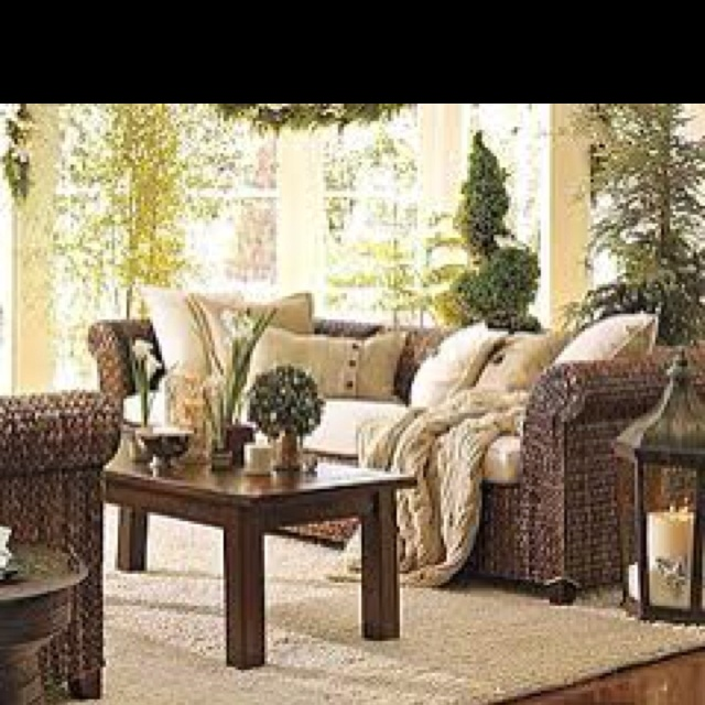Rustic Sunroom Sunrooms Indoor Outdoor Pinterest
