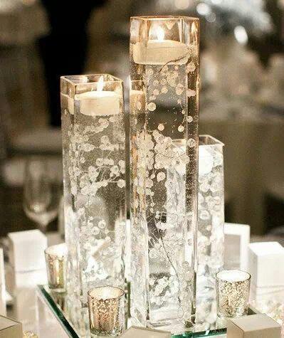 Velas flotantes decoraciones para fiestas pinterest for Decoracion de velas