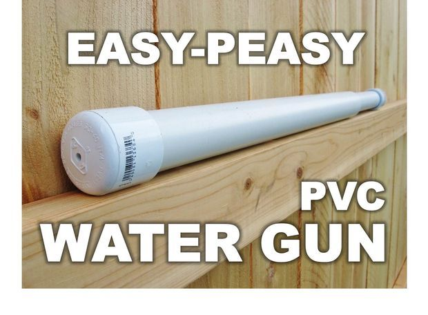Pvc water gun things for aaron to build pinterest for Can you use pvc for water lines