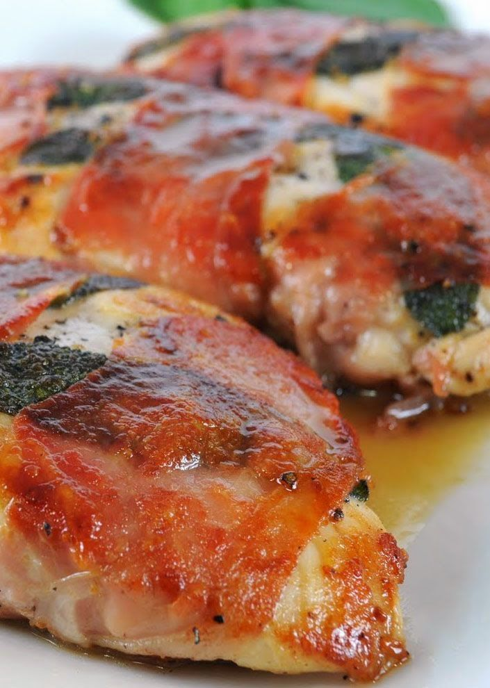 Lemony Chicken Saltimbocca Recipe | Chicken | Pinterest