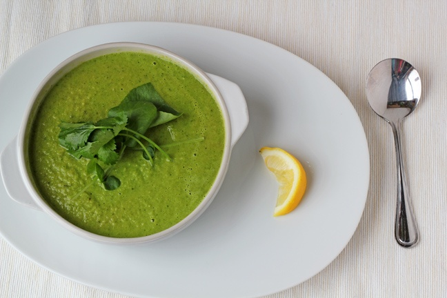 Creamy broccoli & kale soup | Yumm | Pinterest