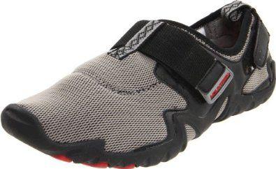 Mountrek Men's Portland Creek Barefoot Water Shoe,Dark Grey,13 M US