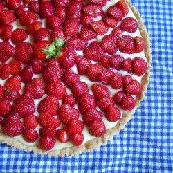 Strawberry Tart :-) | Fourth of July!