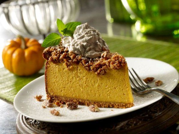 Maggiano's pumpkin praline cheesecake....sure we can and have made it ...