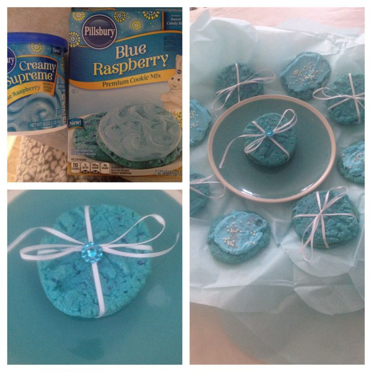 tiffany blue cookies #tiffany & co. | Yummy | Pinterest