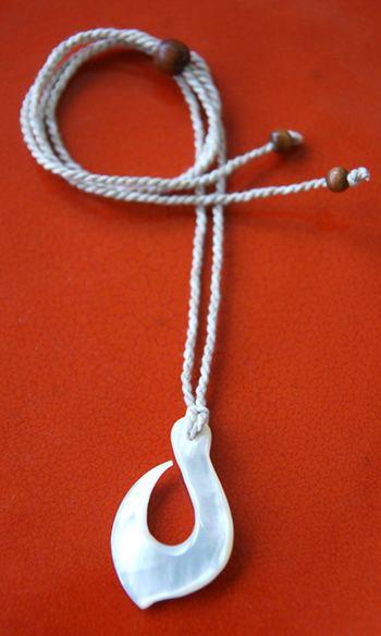 Maui fish hook hawaiian necklace hawaiian island jewelry for Maui fish hook necklace