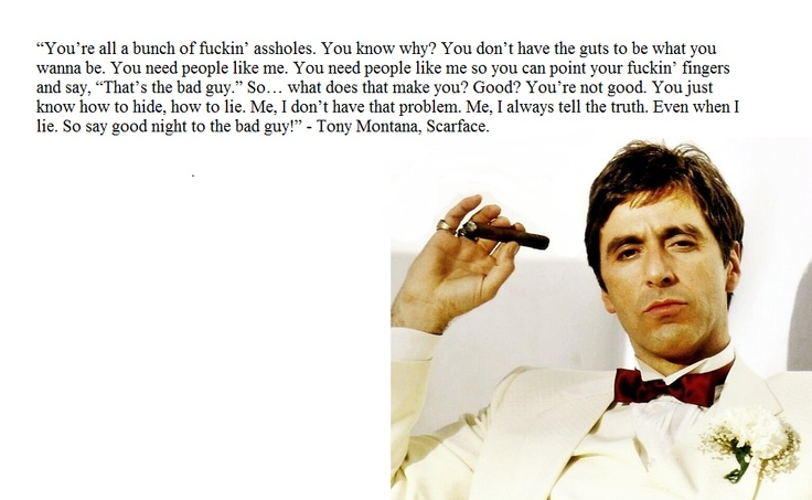 Scarface Quotes Al Pac...