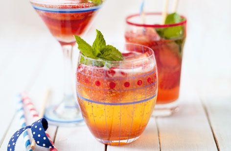 Strawberry fizz   Recipe