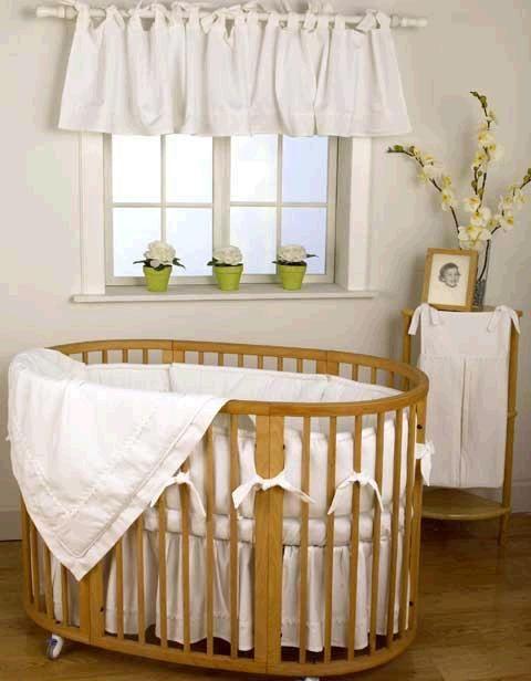 elegant modern round baby crib design mom one day pinterest