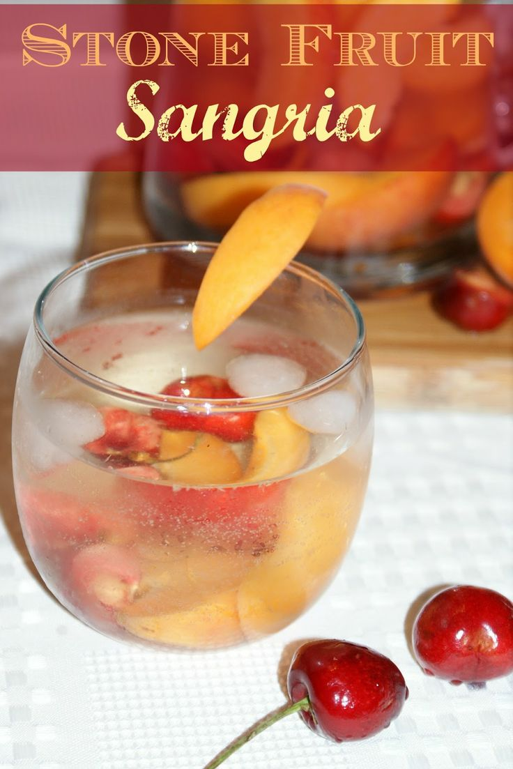 Living Better Together: Stone Fruit Sangria