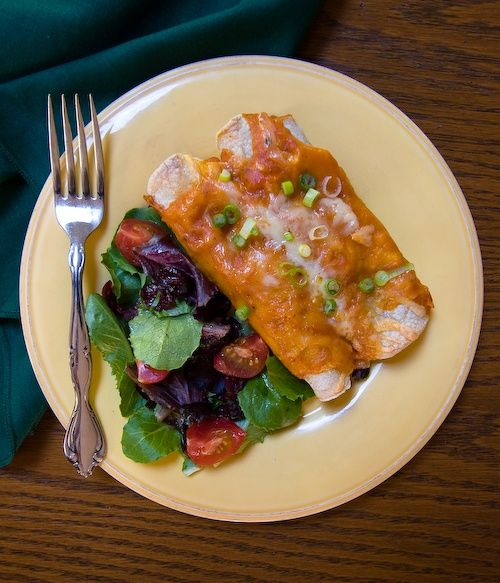 vegetarian enchiladas | Chef Emma | Pinterest