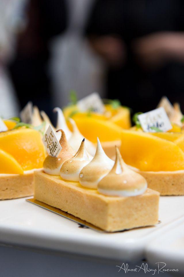 Lemon Meringue Tart (Luxbite) | Macarons, Meringues, Patisserie, Noug ...