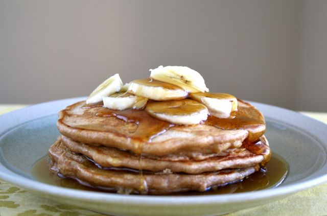 Whole Wheat Banana Nut Pancakes | Cook | Pinterest