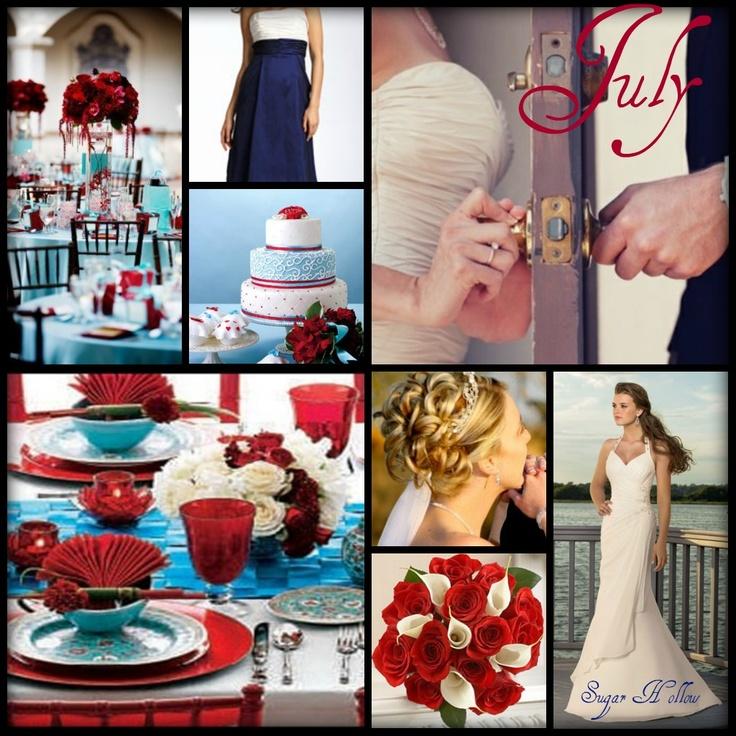 4th of july wedding ideas weddings pinterest With fourth of july wedding ideas