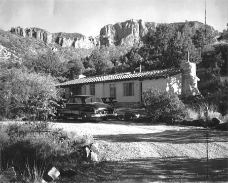 CCC stone cottage at Big Bend NP
