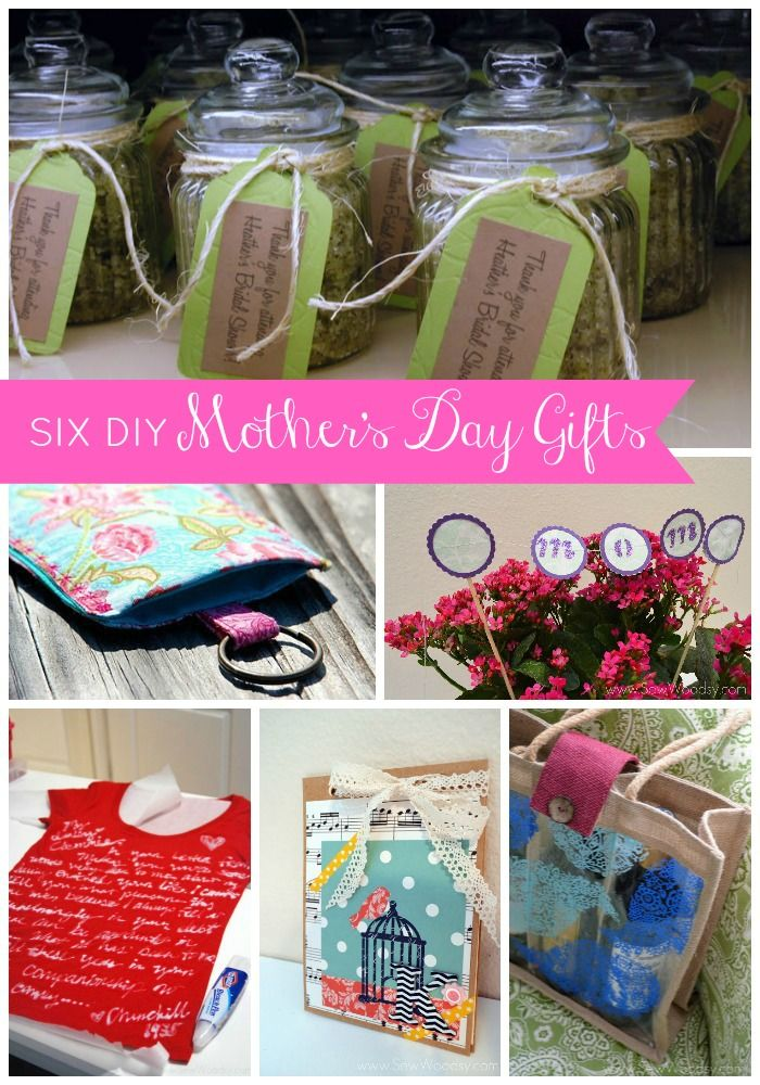 6 diy mothers day gifts gift ideas pinterest Mothers day presents diy