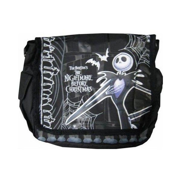 Amazon.com: The Nightmare Before Christmas Messenger Bag: Sp ...