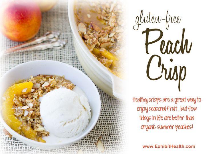 Gluten-Free Peach Crisp | Cheesecakes, Pies & Puffs | Pinterest