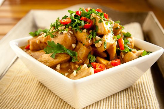 Peanut Chicken Curry - double the recipe for 6-8 people using ~4 ...