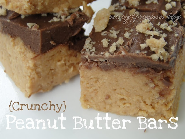 Peanut Butter Bars so easy to make GF, and so tasty!!