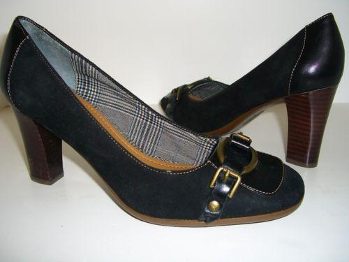 Easy Spirit Womens Shoes Black Classic Pumps Size 6