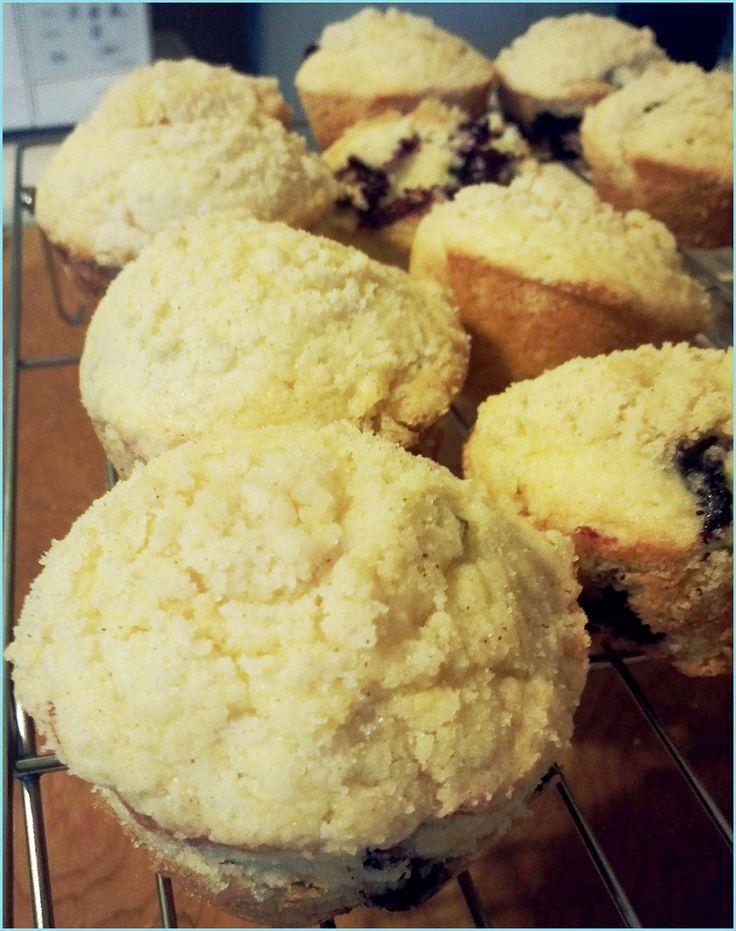 Buttermilk blueberry muffins | Breakfast | Pinterest
