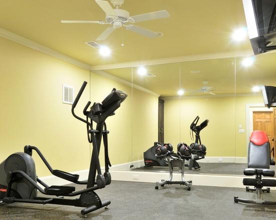 Minimal equipment home gym ideas pinterest