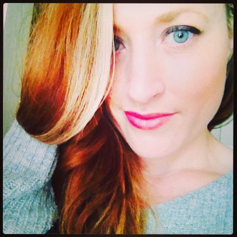 Red copper auburn hair blonde highlights | hair ideas | Pinterest