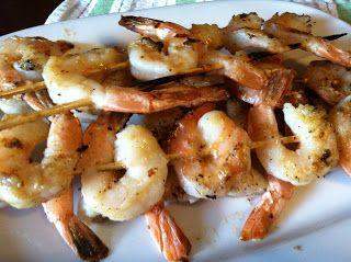 Grilled Miso Butter Garlic Shrimp | Under the Sea | Pinterest