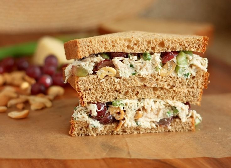 Dill Chicken Salad Sandwiches - Cooking Classy....I use dried ...
