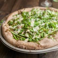 Shaved Asparagus and Gorgonzola Pizza | Good Eats! | Pinterest