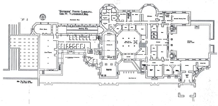 biltmore house basement floorplan biltmore estate