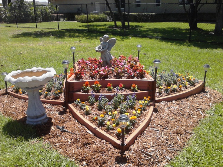 Raised flower bed outdoor ideas pinterest for Raised flower bed plans