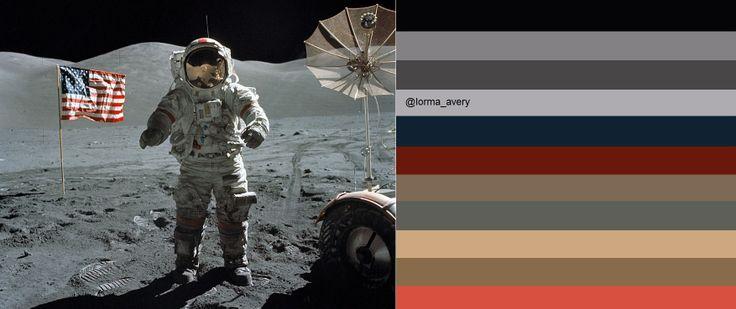 moon landing color - photo #34