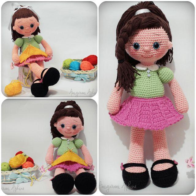 Amigurumi Askina Demet : Amigurumi Askina-orgu Oyuncaklarim Munecas crochet ...
