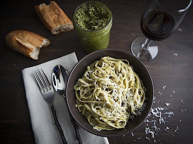 ... on pork or chicken before baking. Sage and Walnut Pesto | Chez Us