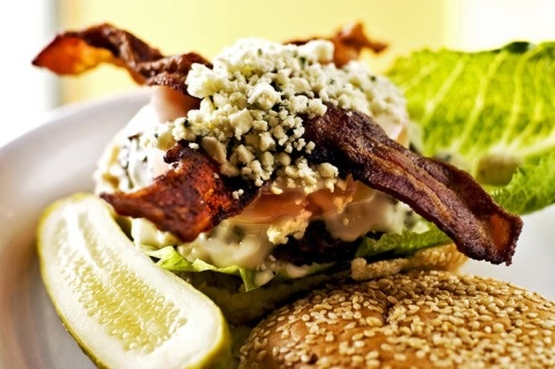 Bobby Flay's Bobby Blue Burger Get it crunchified!