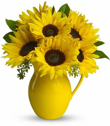 Sunflower floral arrangements kitchen ideas l pinterest