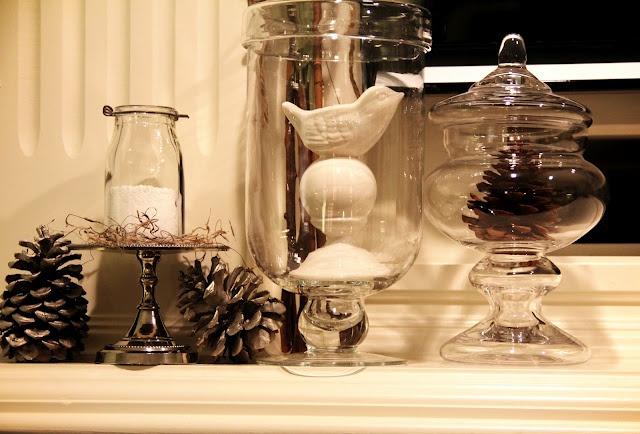 Great winter decorating Home Decor Pinterest