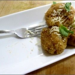 Olive stuffed Tomato Basil Arancini | Appetizers | Pinterest