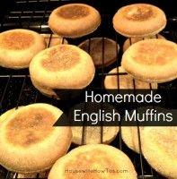 Homemade English Muffins | Recipe